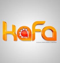 طراحی لوگو شرکت کافا
