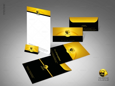 طراحی ست اداری شرکت TMC