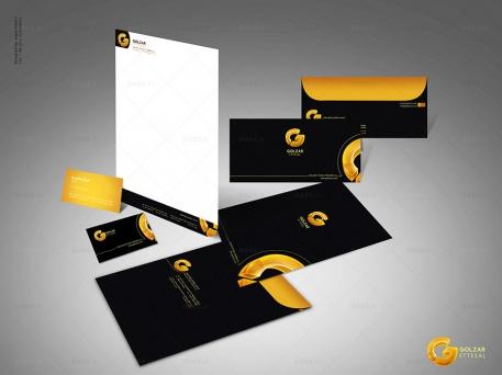طراحی ست اداری شرکت گلزار اتصال