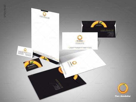 طراحی ست اداری شرکت پارس مرکبات