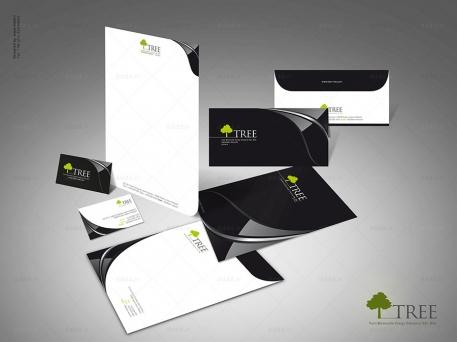 طراحی ست اداری شرکت تیام