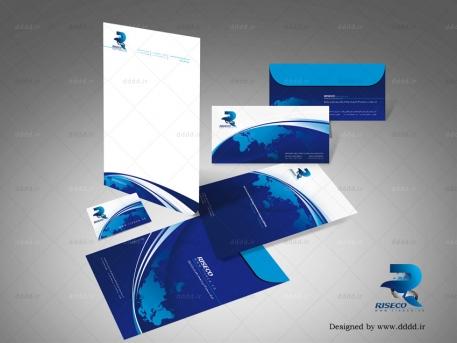 طراحی ست اداری شرکت رایزکو