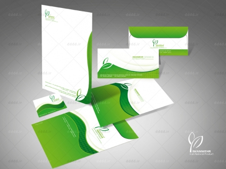 طراحی ست اداری شرکت ایمان مهر