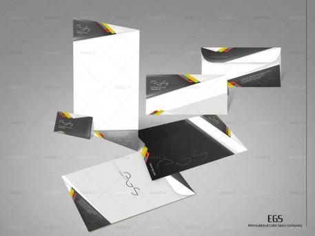 طراحی ست اداری شرکت EGS