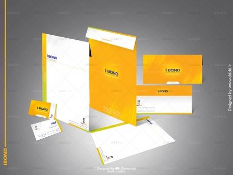 طراحی ست اداری شرکت پدیده آذران (IBond)
