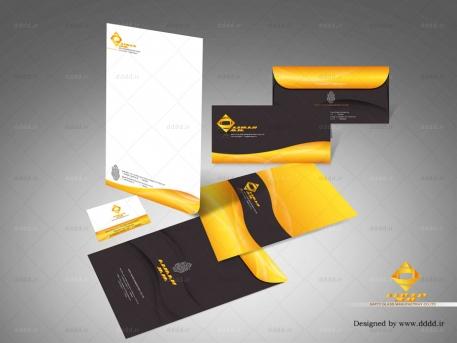 طراحی ست اداری شرکت SafetyGlass