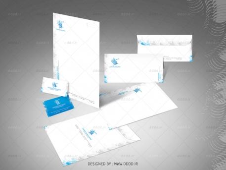 طراحی ست اداری شرکت گنجینه داران