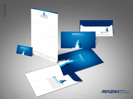 طراحی ست اداری شرکت آتیه سازان