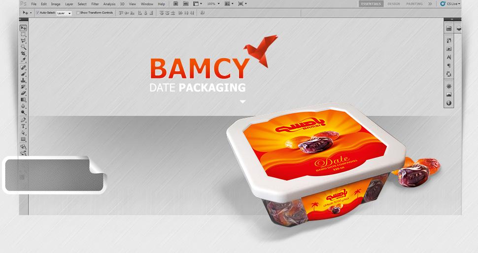 طراحی بسته بندی خرما بامسی