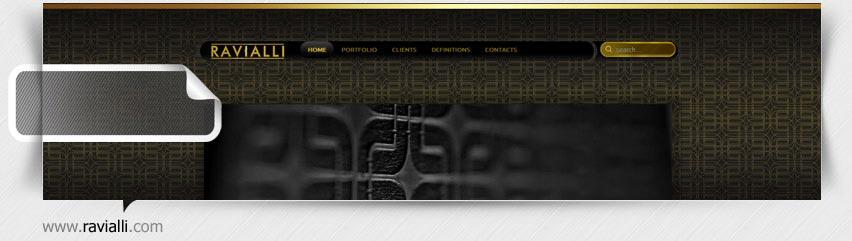 طراحی سایت شرکت راویالی