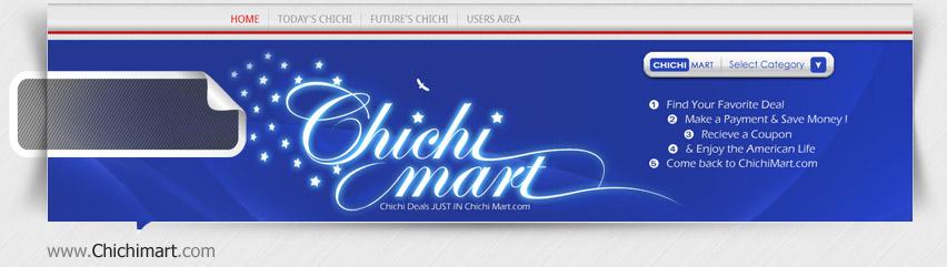 طراحی سایت خرید گروهی ChichiMart آمریکا