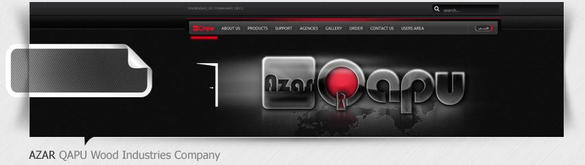 طراحی سایت شرکت آذرقاپو