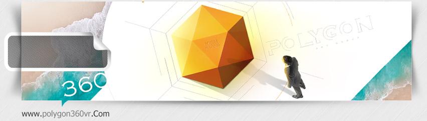 طراحی سایت شرکت پلیگون 360 فعال در زمینه ساخت تور مجازی در کیش